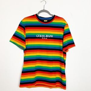 Guess Farmers Market x Sean Wotherspoon Stripe Tee